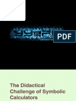 The Didactical Challenge