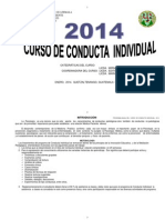 Program a Anual Conduct a Individual 2014