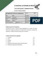 Matemáticas II - Cálculo