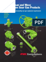 FMC Weco and Chiksan Sour Gas Flowline Catalog