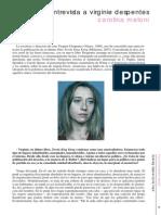 Entrevista Virginie Despentes