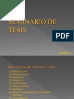 Seminario de Tesis Uni. 1