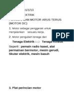 Motor Arus Terus