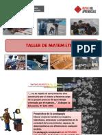Ppt - II Taller Macro de Mate-julio 2013-21-06