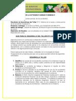DESARROLLO DE LA GUIA PARA EL DESARROLLO DEL TALLER N°5