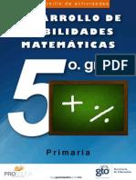 Cuadernillo Mat 5 Prim Web