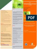 Brochure Curso Sistema de Gestión de la Inocuidad de Alimentos Basado en Iso 22000