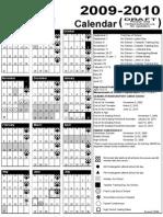 2009-2010 RSD Calendar