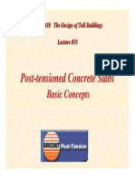 TB Lecture18 Post Tensioning Concrete Slabs