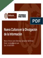 MVLS - MINEDUCACIÓN - Transparencia e Información en las Instituciones de Educación Superior - Nueva Cultura en la Divulgación de la Información 2013 V4