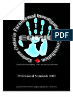 EOPIC CIPRIS International Standards for Anomalous Investigations