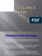 How to teach Maths in lower classes