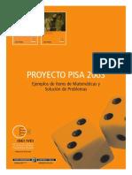 Ejemplos de ítems de Matemáticas y Solución de Problemas