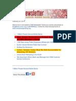 CWA Newsletter, February 20, 2014