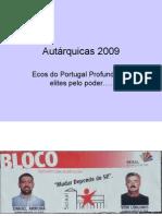 Autárquicas 2009As Elites Locais na Vertigem pelo Poder