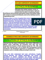 Business Ethics and Corporate Governance-Definitions, Principles and Issues