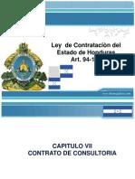 Ley  de Contrataciòn del Estado de Honduras