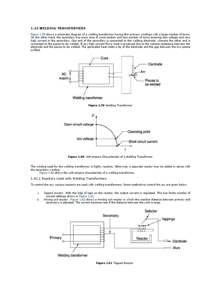 Welding Transformer | Transformer | Inductor on
