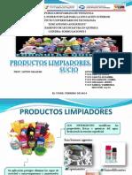 Presentacion. Productos de Limpieza, Sustrato y Sucio