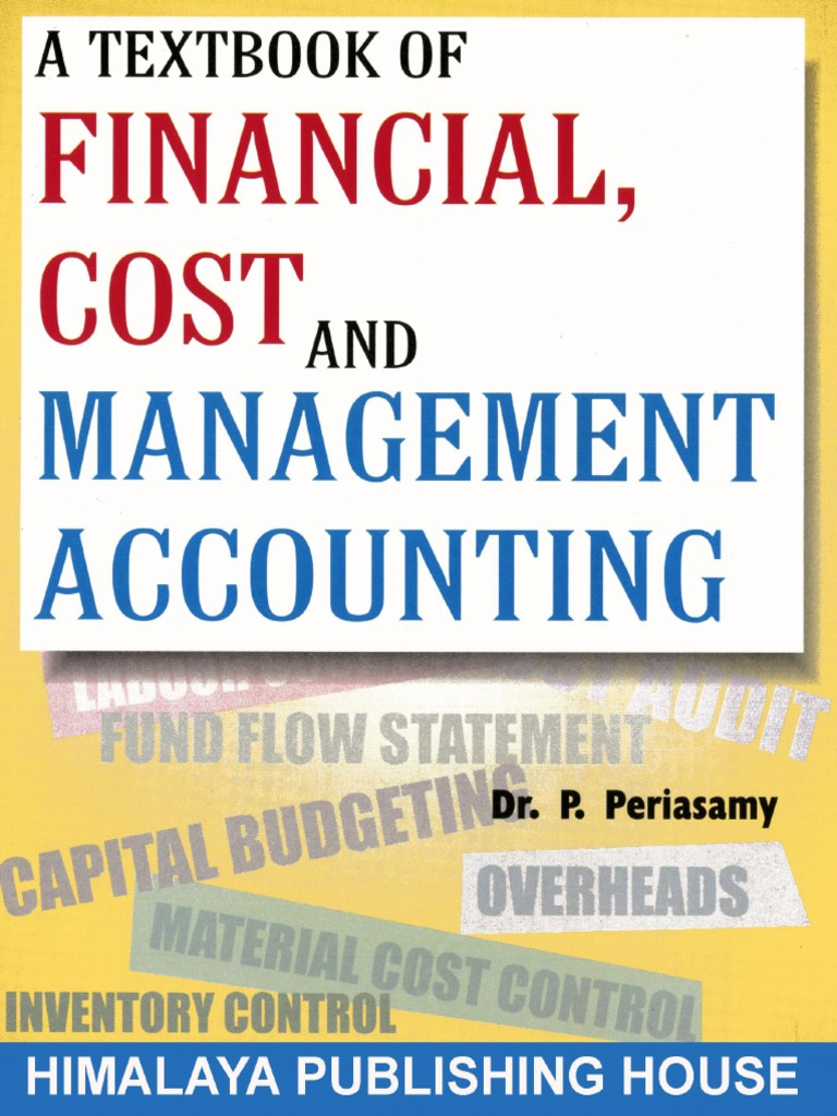 Textbook of Financial Cost and Management Accounting | Cash