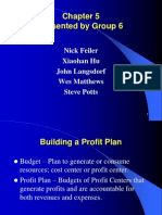 Chapter 5 - building profit plan