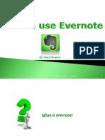 How to Use Evernote_Maria Femilia Ramirez