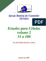 50 Estudos Para Celulas - Volume II