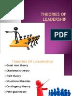 Theories of Leadrshp