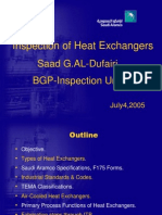 Heat Exchanger Inspection