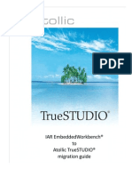 IAR 2 Atollic TrueSTUDIO MigrationGuide ARM