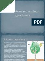 Contaminarea Cu Reziduuri Agrochimice