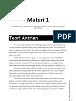 Materi 1 Queueing Theory