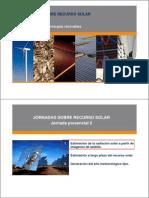 Jornadas Sobre Recurso Solar 3