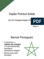 Kepler Poinsot Solids