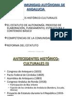 Esquema Del Estatuto de Andalucia