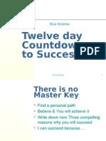 Twelve Day Countdown to Success
