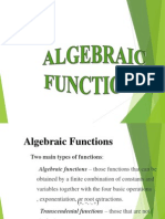 (2)Algebraic Functions-Polynomial for Uploading