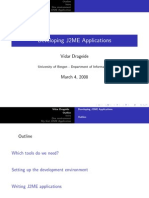 Developing J2ME apps