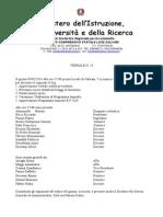 Verbale Consiglio Di Istituto 5 Febbraio 2014