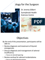 Endocrinology for the Surgeon