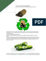 Las Pilas y Su Efecto en El Medio Ambiente