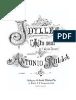 Rolla Antonio - 6 Idilli Para Viola Solo