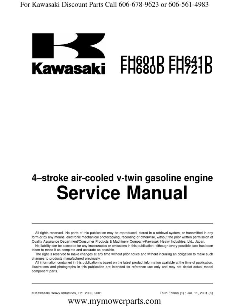 fh601d fh641d fh680d fh721d kawasaki service repair manual rh scribd com