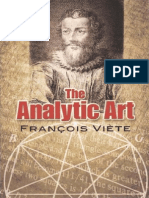 T. Witmer (Transl) - The Analytic Art_Francois Viette