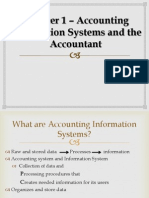 Chapter 1 – Accounting Information Systems and the Accountants [FINISHED]