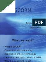 SCORM- My Presentation
