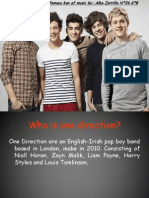 My famous band  One direction.pptx