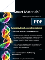 Smart Materials for Hot and Dry Climates