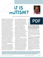 What is Autism? by James Jeffrey Bradstreet, MD, MD(H), FAAFP