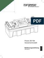 Power 26-104 Deutsch